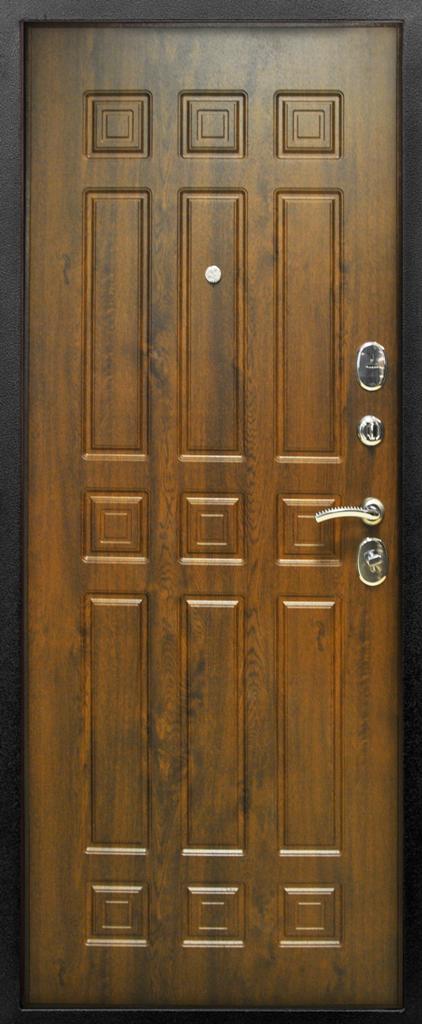 входная дверь орех